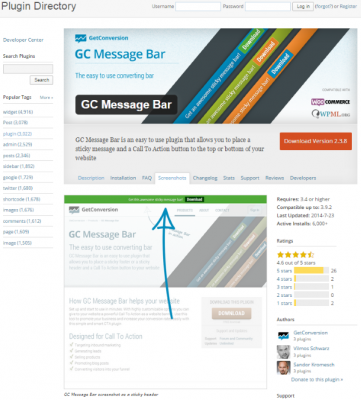 How to Build Your Personal Branding Using WordPress GC Message Bar